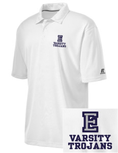 Edgewood Elementary School Trojans Embroidered Russell Coaches Core Polo Shirt