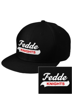 Fedde Middle School Knights  Embroidered New Era Flat Bill Snapback Cap