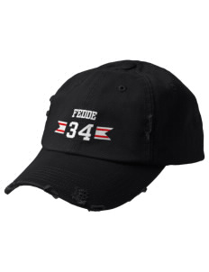 Fedde Middle School Knights Embroidered Distressed Cap