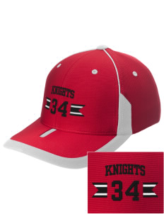 Fedde Middle School Knights Embroidered M2 Universal Fitted Contrast Cap