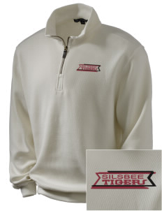 Silsbee High School Tigers Embroidered Men's 1/4-Zip Sweatshirt