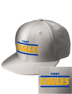Tibby Elementary School Eagles  Embroidered New Era Flat Bill Snapback Cap