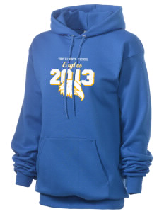 Tibby Elementary School Eagles Unisex 7.8 oz Lightweight Hooded Sweatshirt