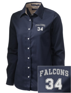 Battle Elementary School Falcons  Embroidered Women's Pima Advantage Twill