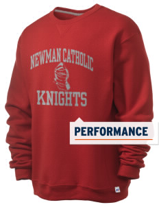 Newman Catholic School Knights  Russell Men's Dri-Power Crewneck Sweatshirt