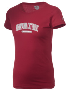 Newman Catholic School Knights  Russell Women's Campus T-Shirt