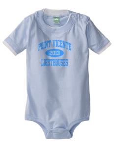 Point Vicente Elementary School Lighthouses Baby One-Piece with Shoulder Snaps