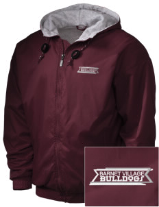 Barnet Village School Bulldogs Embroidered Holloway Men's Hooded Jacket