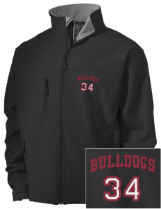 Barnet Village School Bulldogs Embroidered Men's Soft Shell Jacket