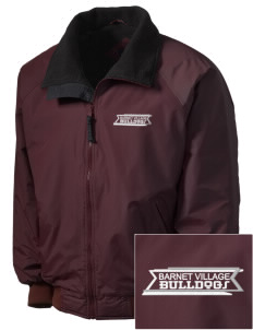 Barnet Village School Bulldogs Embroidered Men's Fleece-Lined Jacket