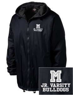 Thurgood Marshall Elementary School Bulldogs Embroidered Dickies Men's Fleece-Lined Hooded Jacket