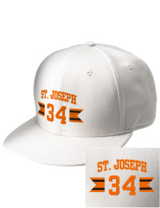 Saint Joseph Junior High School Bears  Embroidered New Era Flat Bill Snapback Cap
