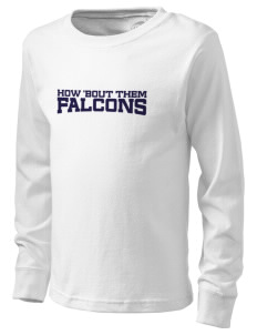 Snowden Elementary School Falcons  Kid's Long Sleeve T-Shirt
