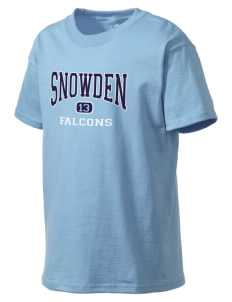 Snowden Elementary School Falcons Kid's Lightweight T-Shirt