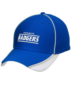 Yosemite High School Badgers Embroidered New Era Contrast Piped Performance Cap