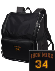 McCorristin Catholic High School Iron Mike Embroidered Holloway Duffel Bag