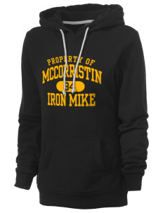 McCorristin Catholic High School Iron Mike Women's Core Fleece Hooded Sweatshirt