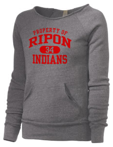 Ripon High School Indians Alternative Women's Maniac Sweatshirt