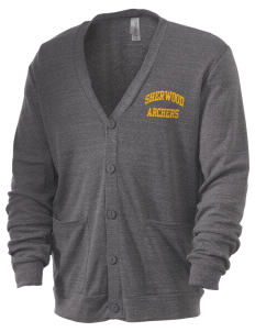 Sherwood Elementary School Archers Men's 5.6 oz Triblend Cardigan