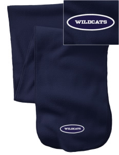 St. Nicholas of Tolentine High School Wildcats  Embroidered Extra Long Fleece Scarf
