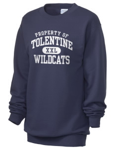 St. Nicholas of Tolentine High School Wildcats Unisex 7.8 oz Lightweight Crewneck Sweatshirt