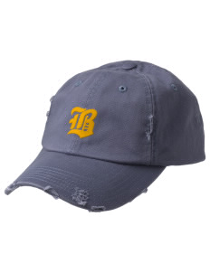 Bryant Middle School Bobcats Embroidered Distressed Cap