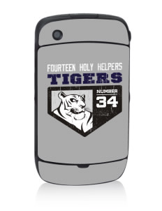 Fourteen Holy Helpers School Tigers Black Berry 8530 Curve Skin