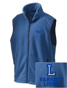 Lincoln Elementary School Lions Embroidered Unisex Wintercept Fleece Vest