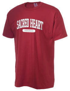 Sacred Heart School Vikings  Russell Men's NuBlend T-Shirt