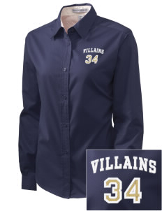 Bishop McGuinness Catholic High School Villains Embroidered Women's Easy-Care Shirt