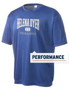 Helena Dyer Elementary School Dragons Men's Competitor Performance T-Shirt