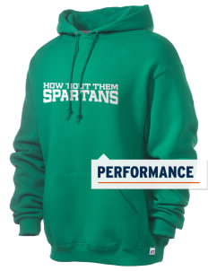 Saint Philip Neri School Spartans Russell Men's Dri-Power Hooded Sweatshirt