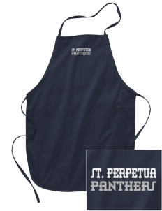 St. Perpetua Catholic School Panthers Embroidered Full Length Apron