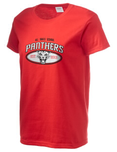 All Souls School Panthers Women's 6.1 oz Ultra Cotton T-Shirt