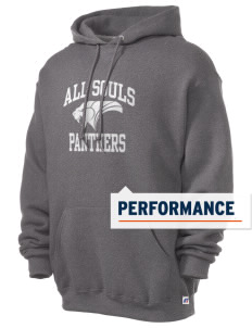All Souls School Panthers Russell Men's Dri-Power Hooded Sweatshirt