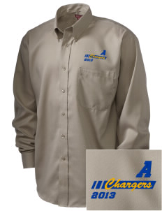 Annunciation Elementary School Chargers  Embroidered Men's Nailhead Non-Iron Button-Down