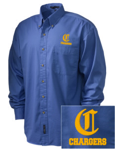 Annunciation Elementary School Chargers Embroidered Men's Twill Shirt
