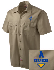 Annunciation Elementary School Chargers Embroidered Dickies Men's Short-Sleeve Workshirt
