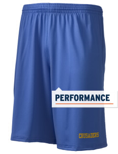 "Saint Anthony School Crusaders Holloway Men's Performance Shorts, 9"" Inseam"