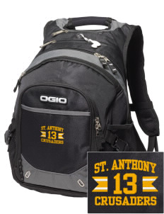 Saint Anthony School Crusaders Embroidered OGIO Fugitive Backpack