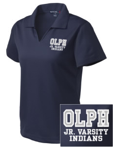 Our Lady Of Perpetual Help School Indians Embroidered Women's Dri Mesh Polo