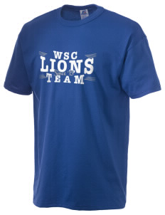 West Seattle Christian School Lions  Russell Men's NuBlend T-Shirt