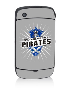 Saint Polycarp Elementary School Pirates Black Berry 8530 Curve Skin