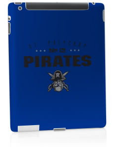 Saint Polycarp Elementary School Pirates Apple iPad 2 Skin