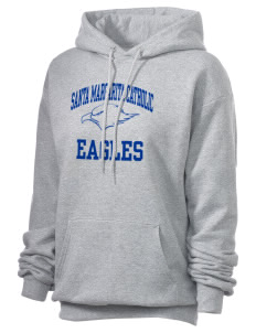 Santa Margarita Catholic High School Eagles Unisex 7.8 oz Lightweight Hooded Sweatshirt