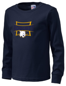 All Souls School Bobcats  Kid's Long Sleeve T-Shirt