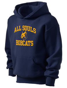 All Souls School Bobcats Kid's Hooded Sweatshirt
