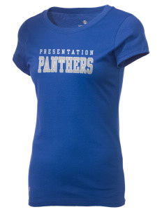 Presentation High School Panthers Holloway Women's Groove T-Shirt