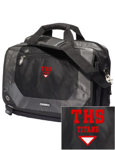 Trinity High School Titans Embroidered OGIO Corporate City Corp Messenger Bag