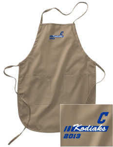 Cascade Middle School Kodiaks Embroidered Full Length Apron